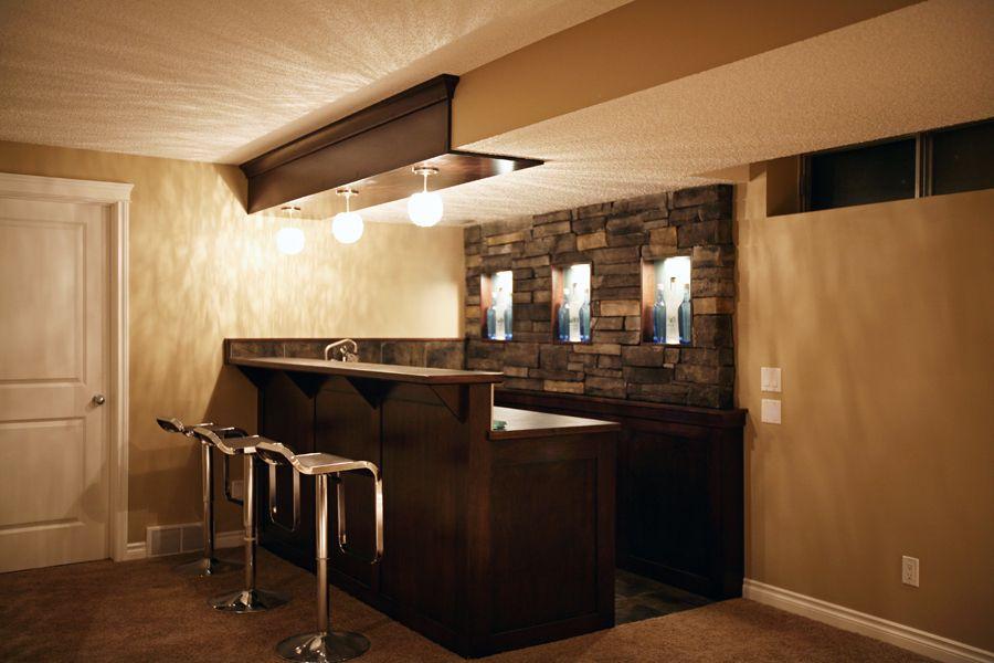 Small Basement Bar Ideas | Copyright © Urban Abode   Calgaryu0027s Basement  Development And Home .