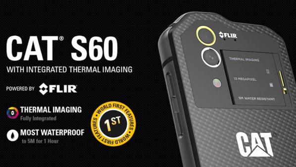 Cat S60 أول هاتف ذكي في العالم مع كاميرا حرارية Smartphone News Thermal Imaging Thermal