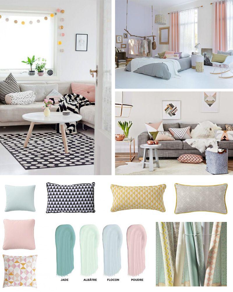 Une d co chaleureuse et cocooning jolie d co chambre style scandinave d co chambre - Chambre style scandinave ...