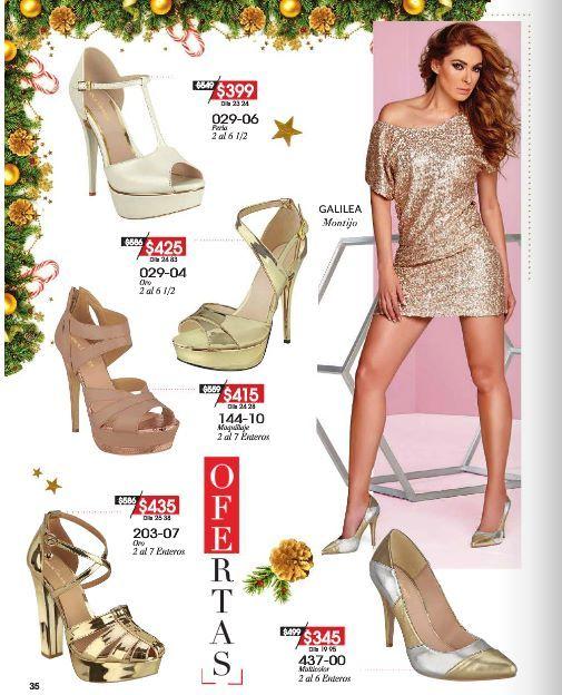 381649aa Zapatos de Fiesta Cklass en Oferta por Navidad. Moda mexicana a bajo  precio. Zapatillas