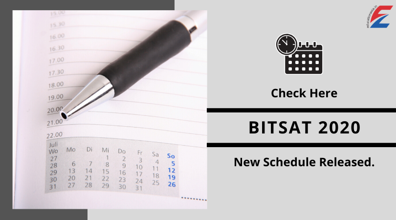 BITSAT 2020 in 2020 Dating, Important dates, Education