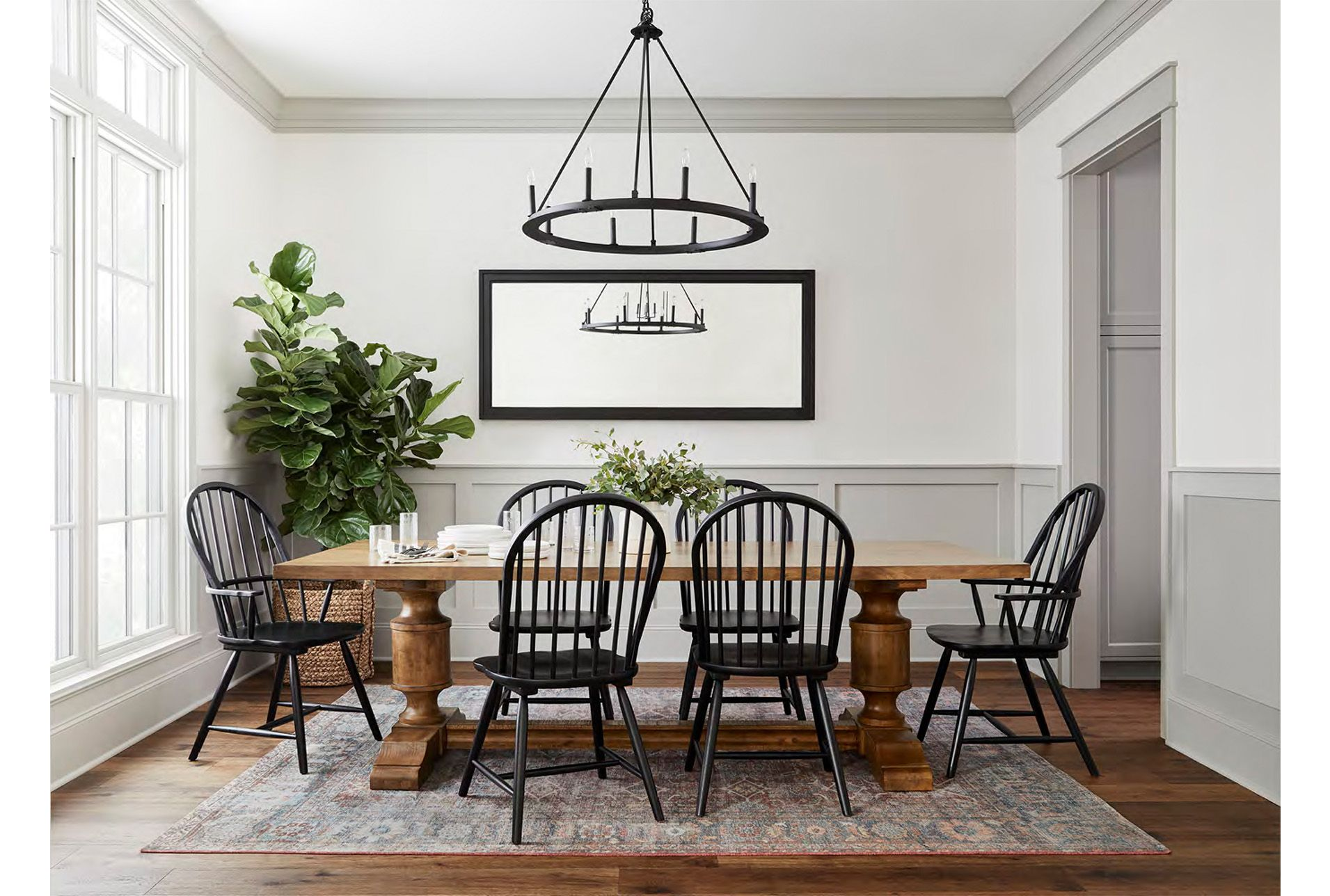 Magnolia Home Concord Dining Table By Joanna Gaines In 2020 Joanna Gaines Dining Room Modern Farmhouse Dining Side Chairs Dining