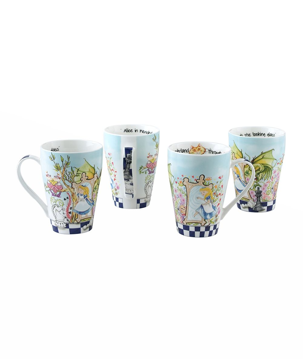 Cardew Alice In Wonderland Tea For One Teapot Cup Through The
