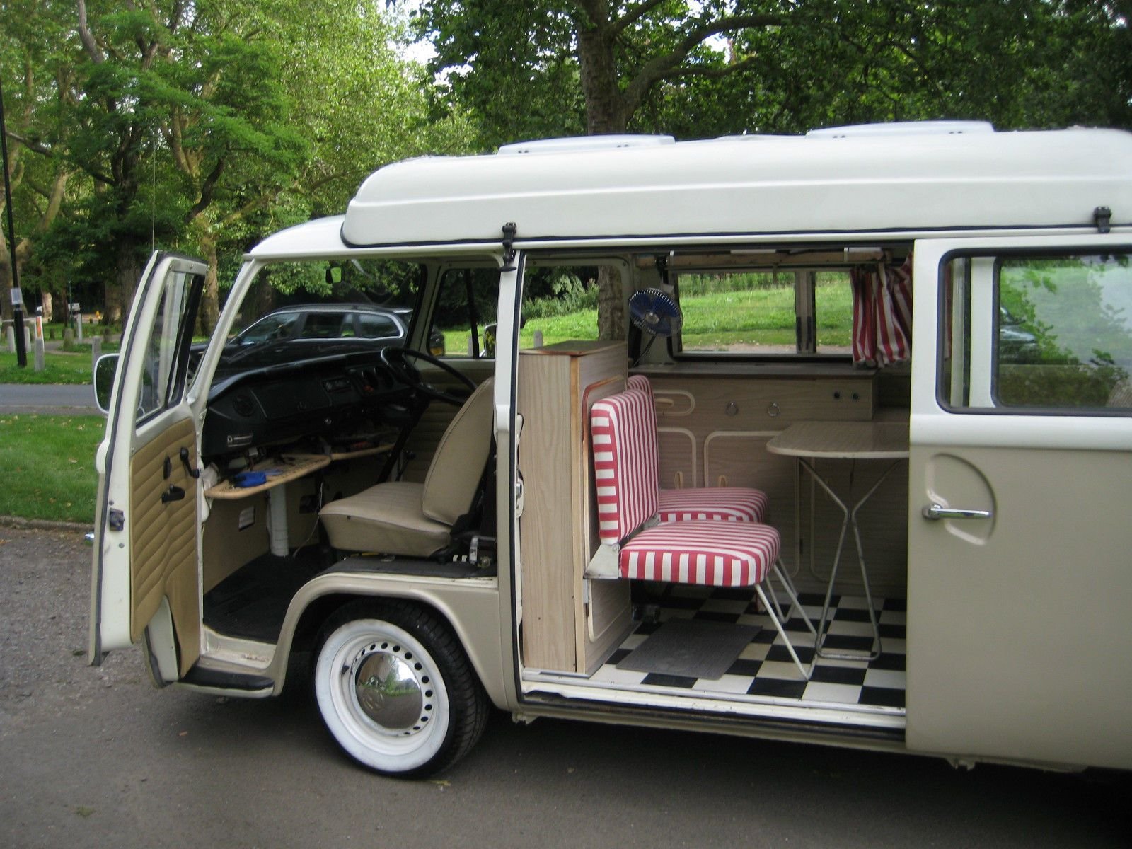 Beautiful And Desirable 1972 VW Dormobile Pop Top Camper With Awning