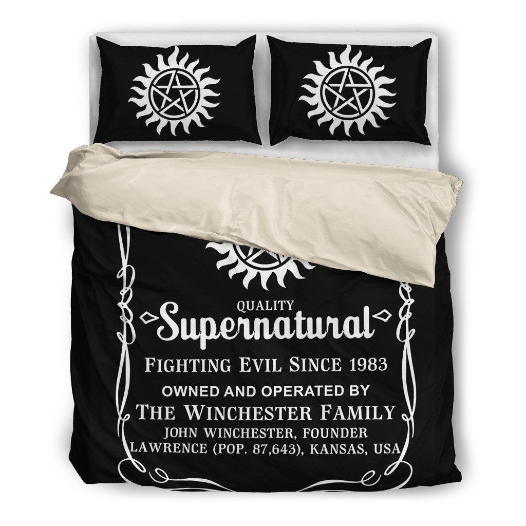 Supernatural Bettwäsche Winchester Bedding All Supernatural All The Time