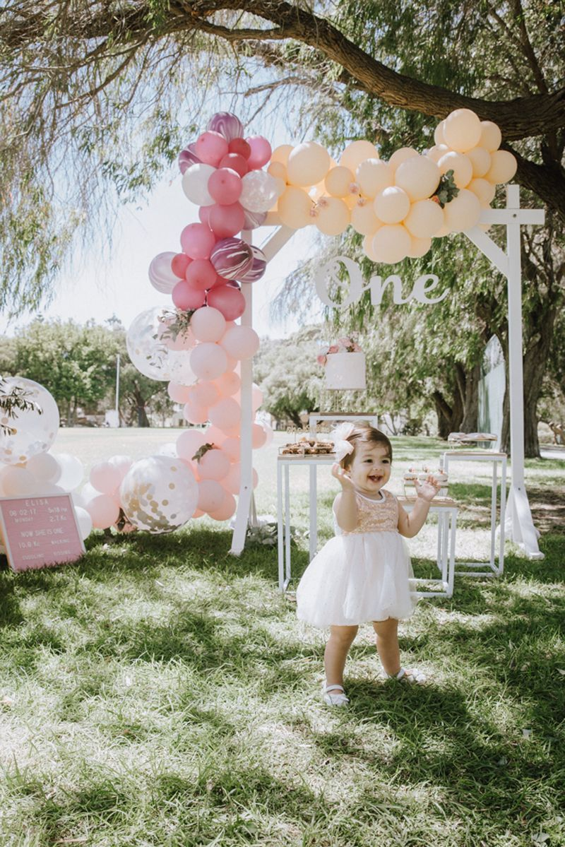 ELISA'S OUTDOORS ONEDERLAND First birthday party