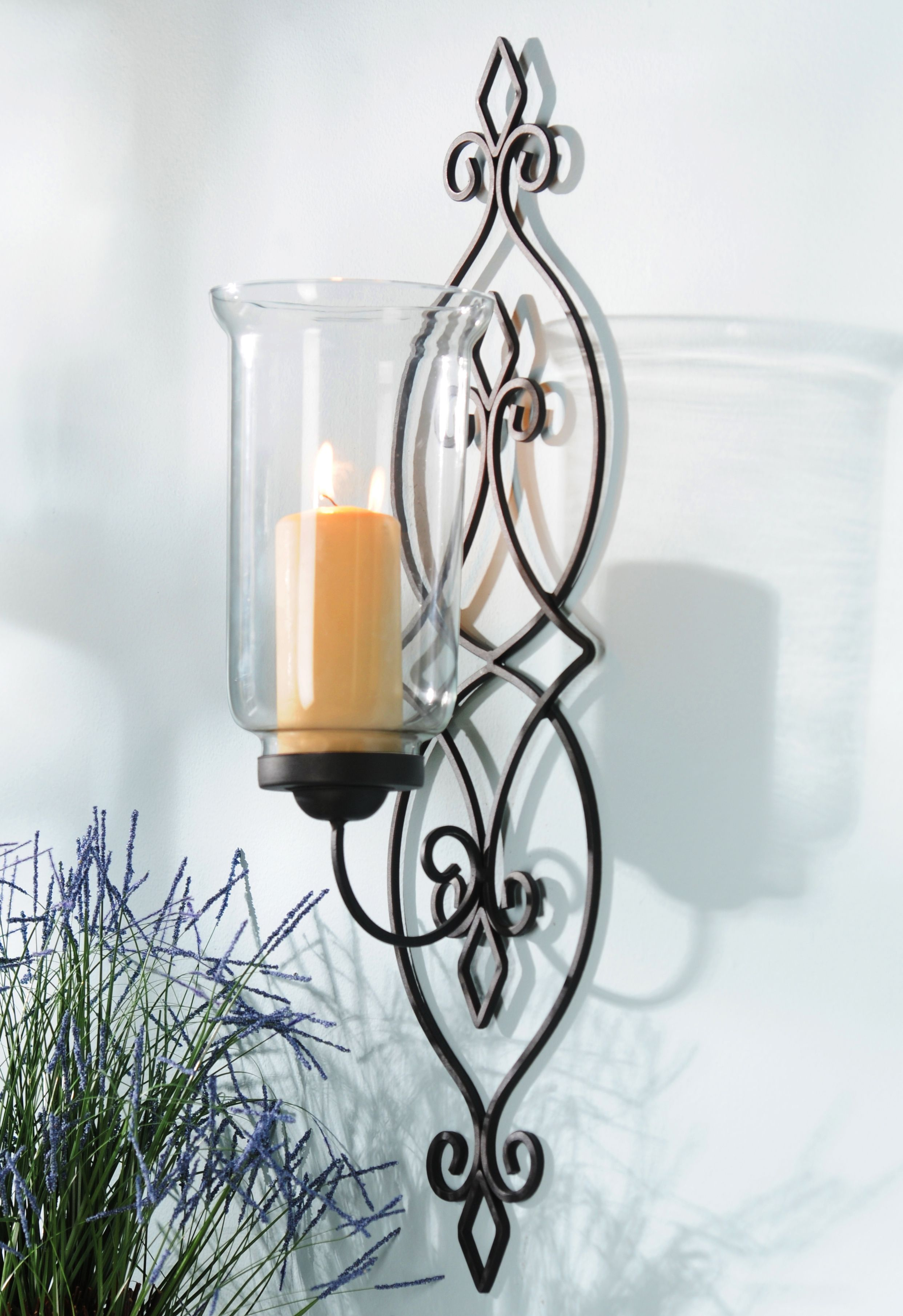 Product Details Black Metal Infinity Sconce My New Place Indoor