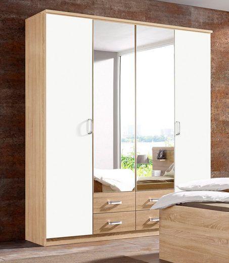 rauch Kleiderschrank »Gandra«, Mittlere Türen mit Spiegel