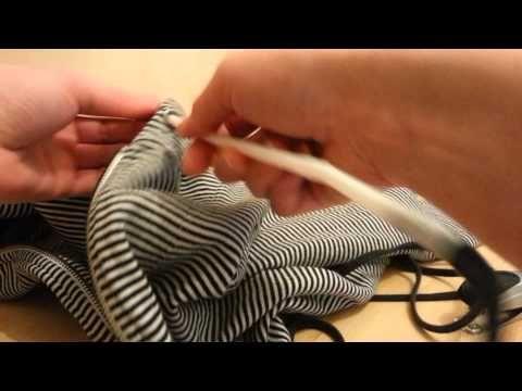 Astuce géniale pour remettre le cordon d'une capuche ou d'un
