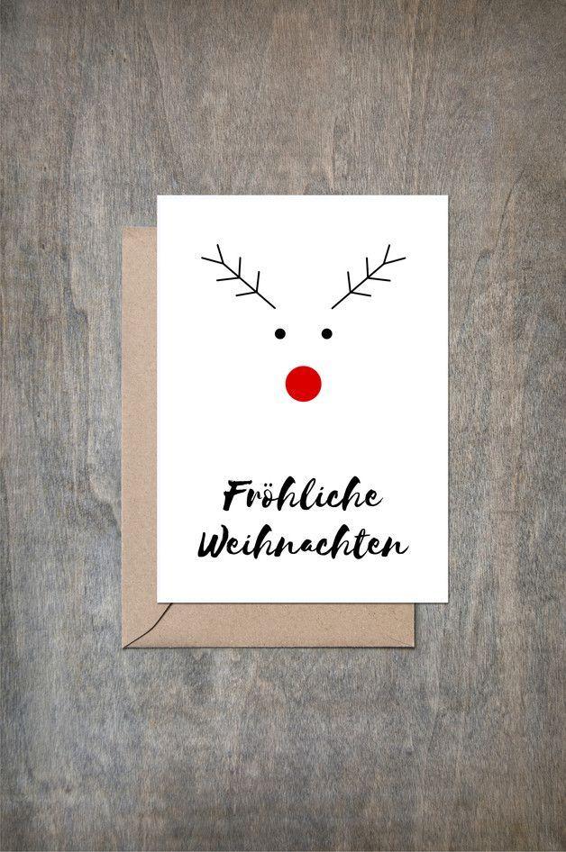 Grußkarte Weihnachten #fotogeschenk