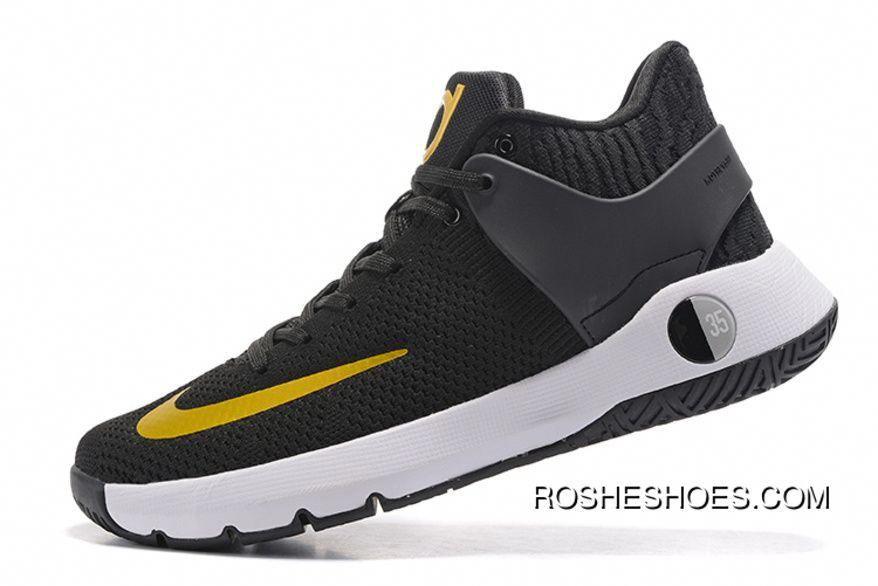 "570da474fbb3 Top Deals Nike KD Trey 5 Woven ""Black Gold""  basketballshoes ..."