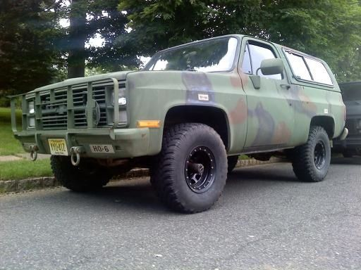 85 Chevy M1009 Cucv Military Blazer 4x4 Diesel Ls1tech Blazer 4x4 Chevy Chevy Blazer K5
