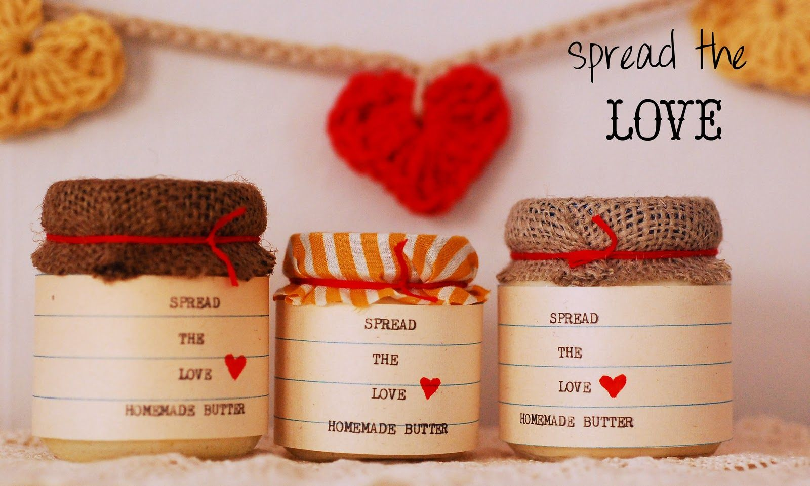 Maize Hutton: Let's Make Butter and SPREAD THE LOVE! Now with printable pdf label!