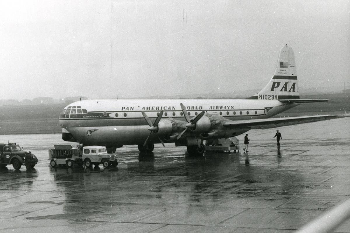 Boeing 377-10-26 Stratocruiser - Pan American World Airways - PAA   Aviation Photo #2491069   Airliners.net