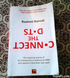 Book Review Connect The Dots By Rashmi Bansal The Dot Book Books Connect The Dots