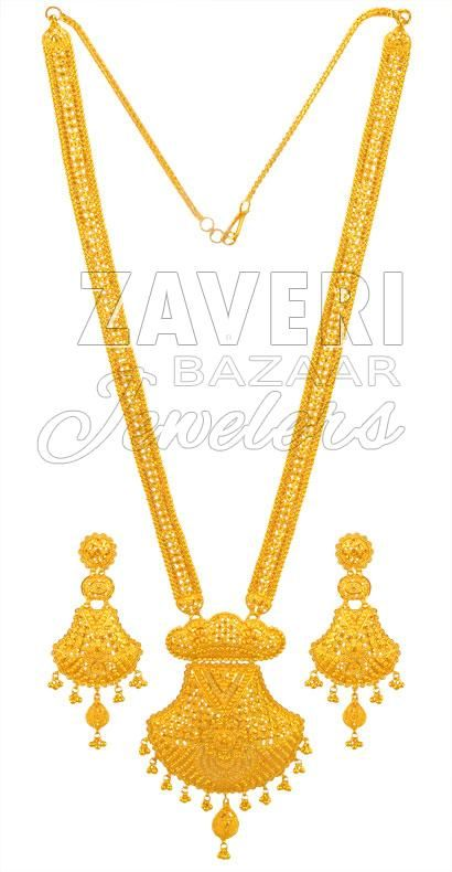 22k Gold Bridal Patta Set Bridal Gold Jewellery Designs Gold Jewelry Outfits Gold Necklace Designs