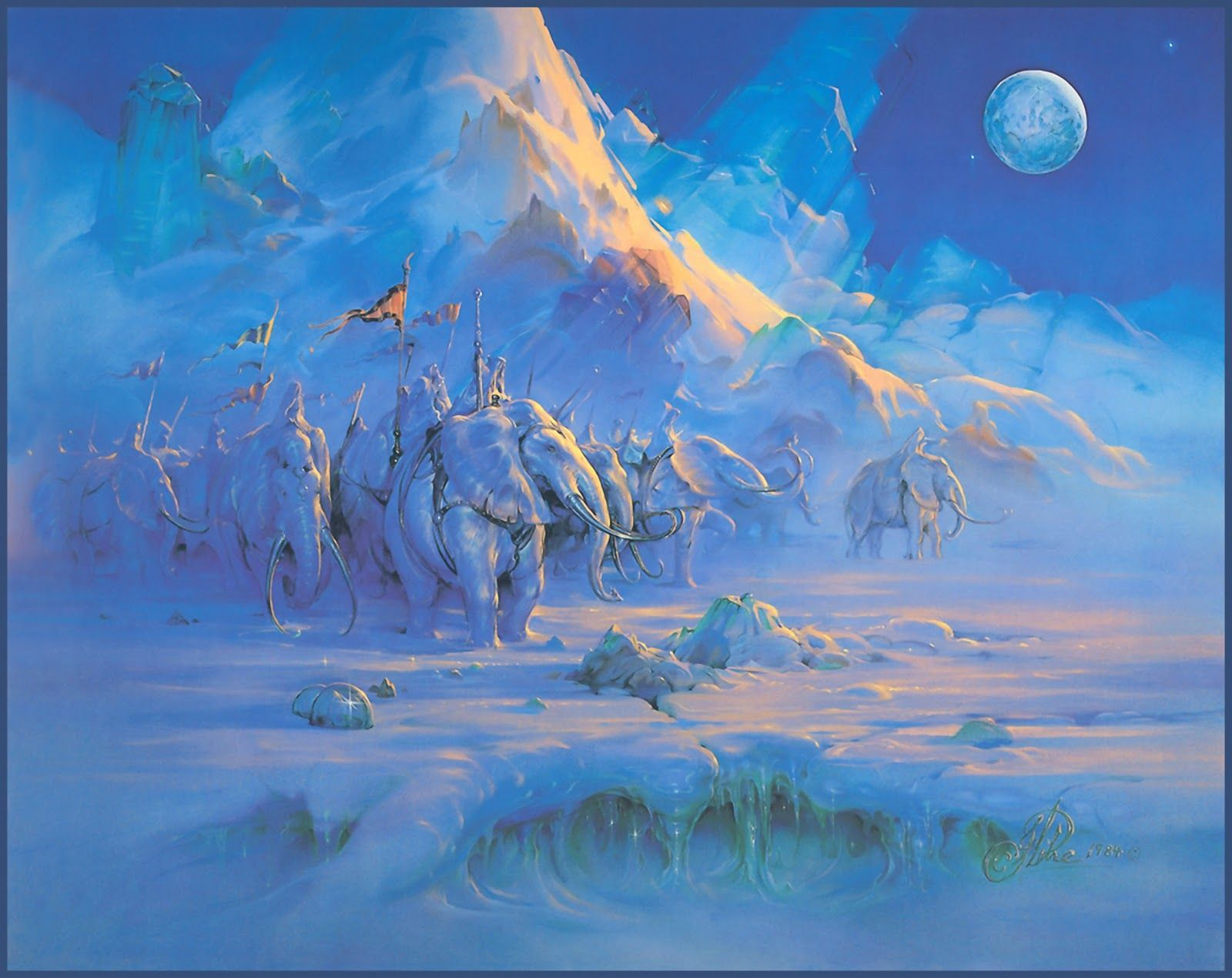 John Pitre, 1942 ~ Fantasy/Surrealist painter | Tutt'Art@ | Pittura * Scultura * Poesia * Musica |