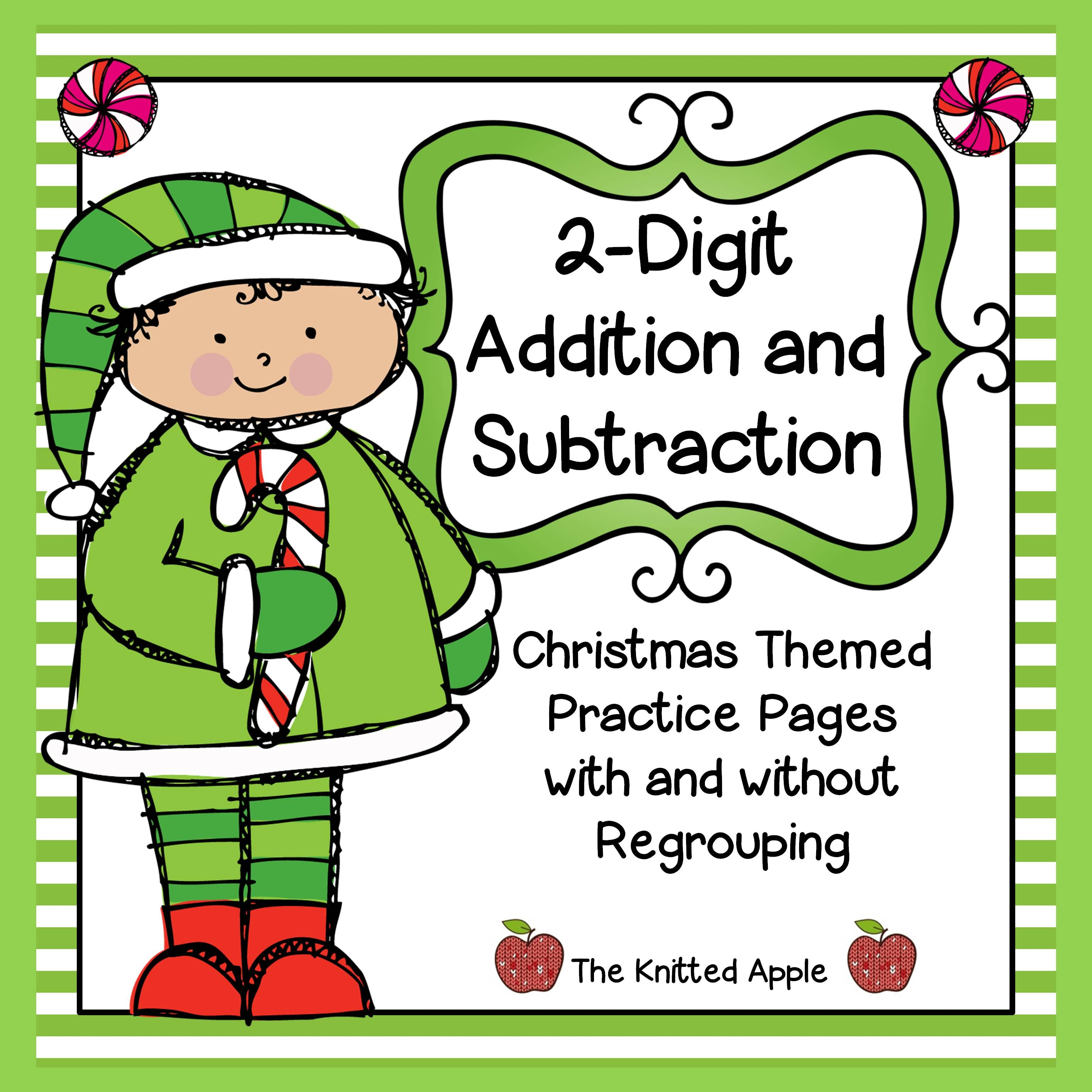 2-Digit Addition and Subtraction with and without Regrouping ...