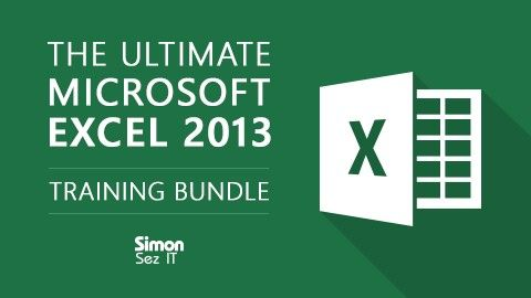 Udemy 90% Off Course Bundles - Buy 2 Get 1 Free - Ultimate Microsoft Excel, Project, Access, QuickBooks Pro, PHP by Simon Sez It