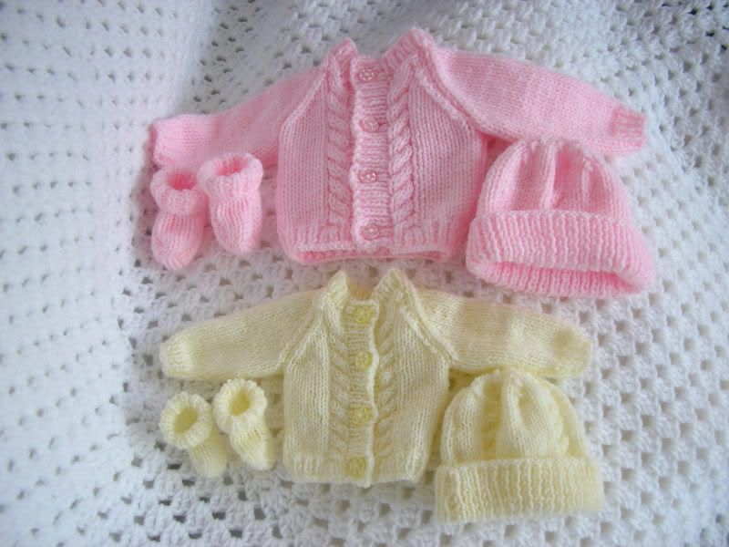 3edc62a238f0 Dolls Knitting Pattern Premature Baby 2-5lb  33