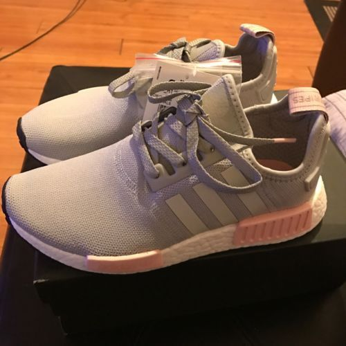 Adidas Offspring NMD R1 W Runner Boost BY3058 7.5 US NEW Pink Light Onyx  Grey