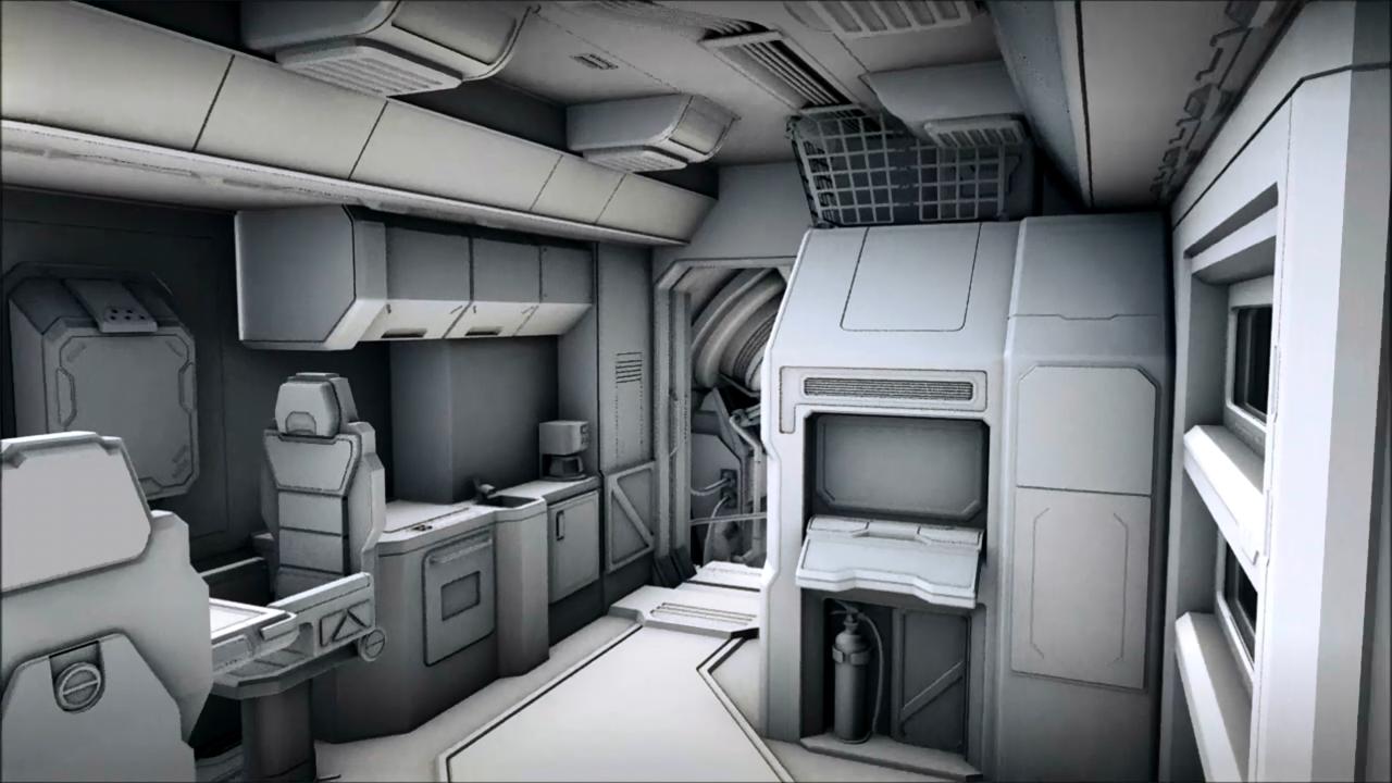 Interior De Ventana De Nave Espacial: Pin De Eric Hermann Em Spaceship Interiors