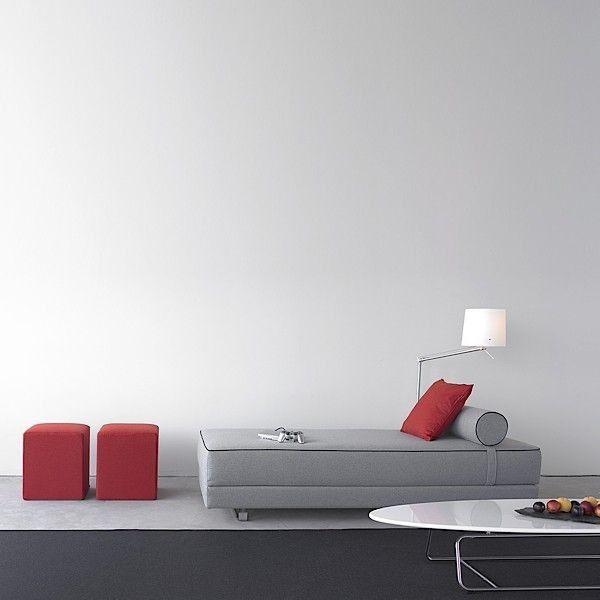 LUBY canapé lit tr¨s confortable un design épuré et intemporel