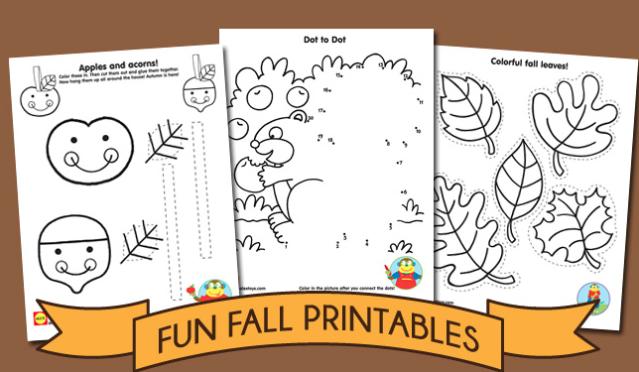 Actividades de Otoño para Preescolares, varias ideas, manualidades y ...
