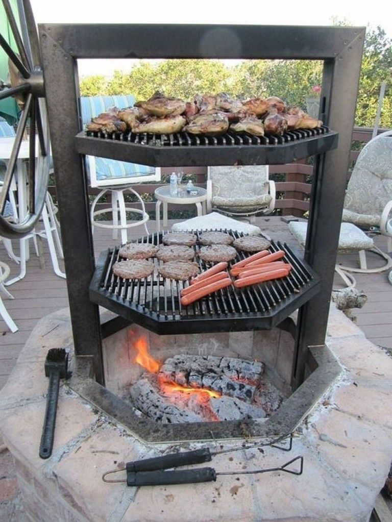 45+ Awesome BBQ Grill Design Ideas for Your Patio #bbq ...