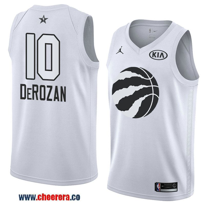 men s western conference toronto raptors  10 demar derozan white 2018 nba  all-star jersey 69ae5ad83