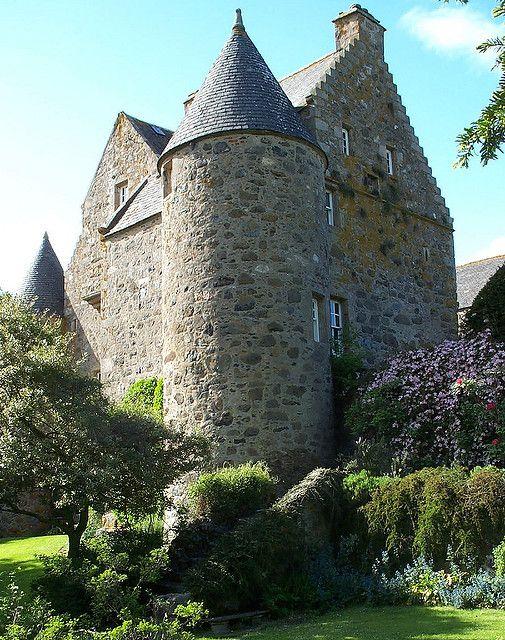 Barra Castle Aberdeenshire, Scotland.