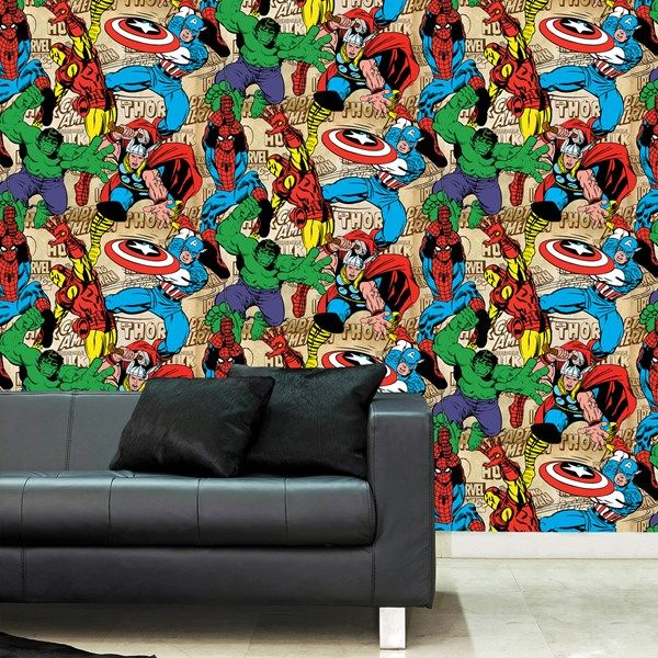 This Marvel Comics Superhero wallpaper is a great way to ...