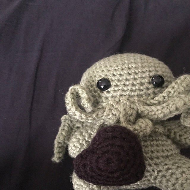 Made to Order - Baby Octopus Keychain, Crochet Octopus, Amigurumi Octopus, Octopus Plush, Handmade Octopus Plush, Stuffed Octopus