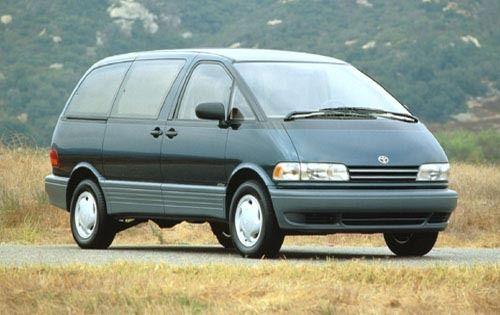 1995 Toyota Previa Green Google Search Toyota Previa Stock Car Toyota