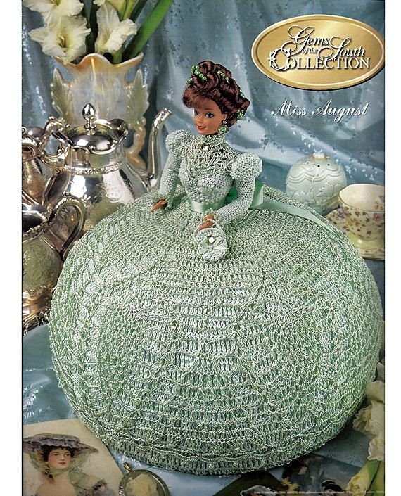 Gems of the South Collection Miss August Annies Calendar Bed Doll ...