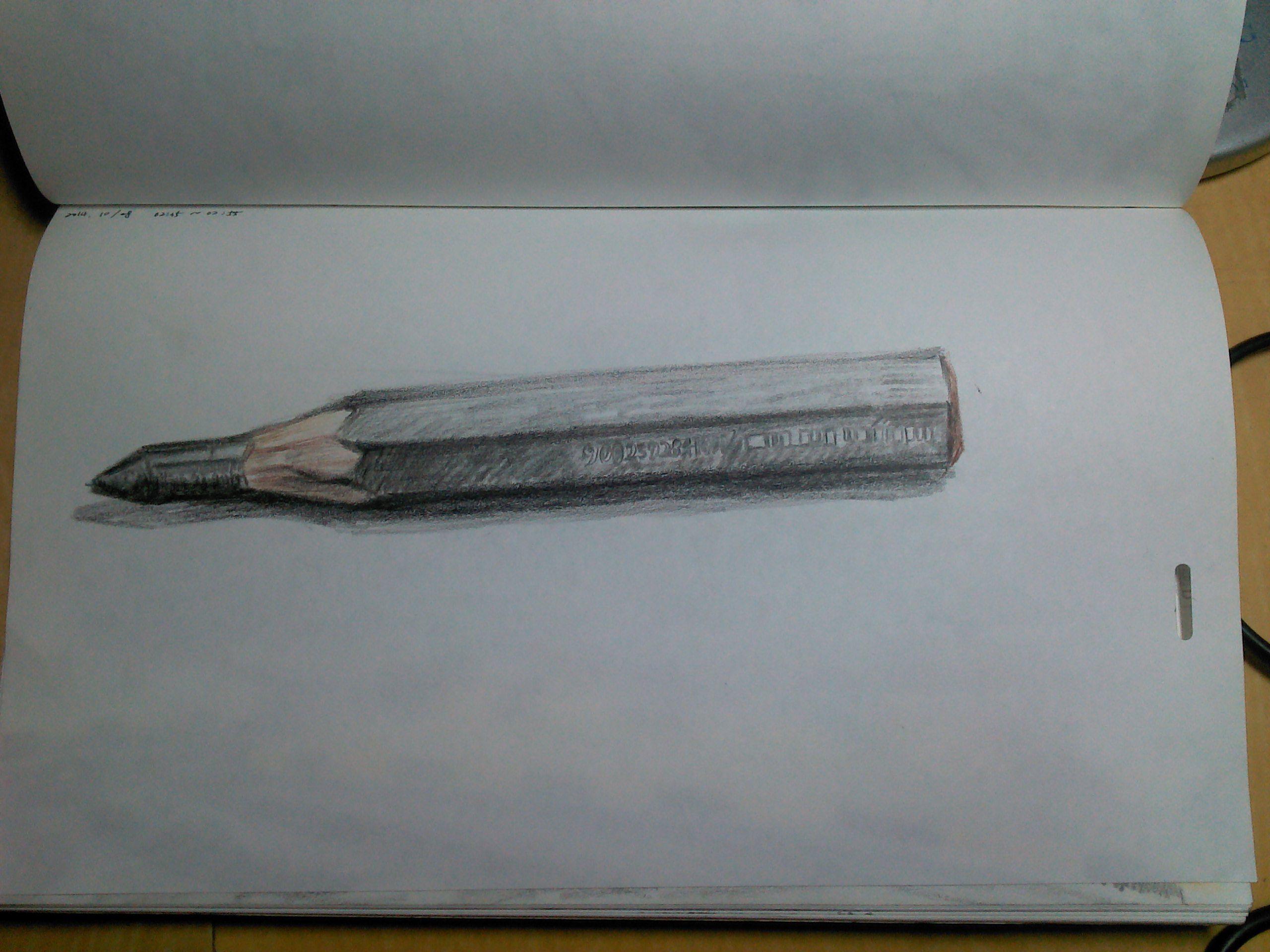 20141026 굵은 연필..감사합니다