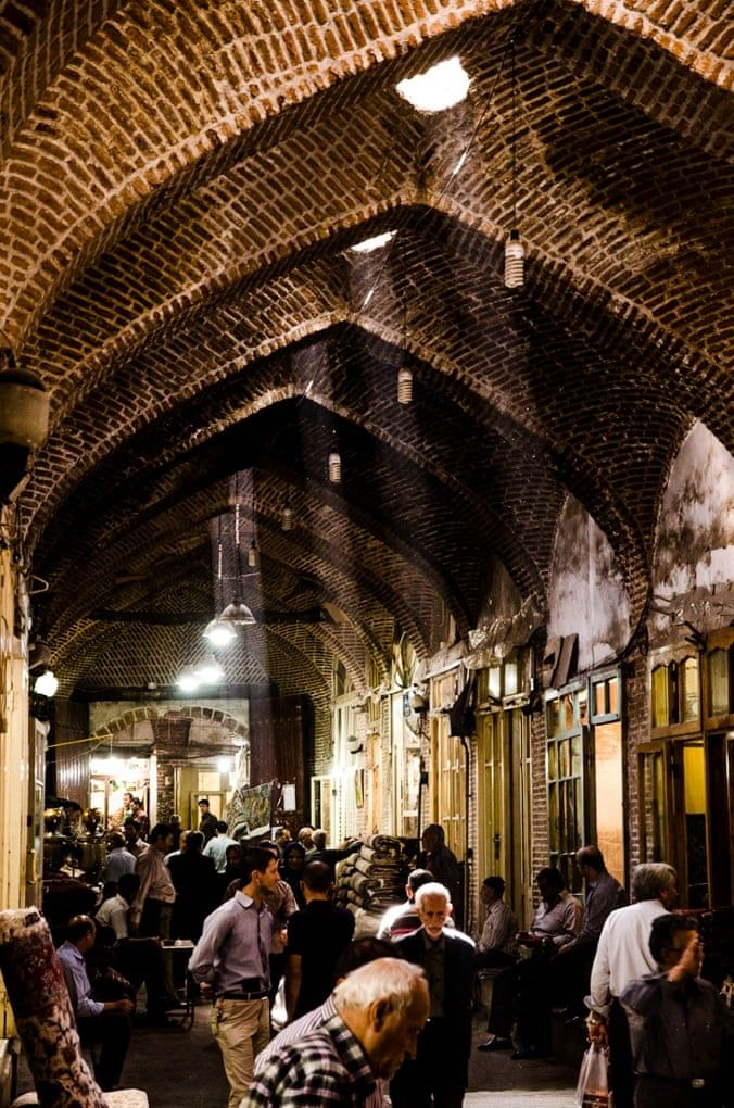 Strolling through Iran's Tabriz bazaar - in pictures | World news | The Guardian