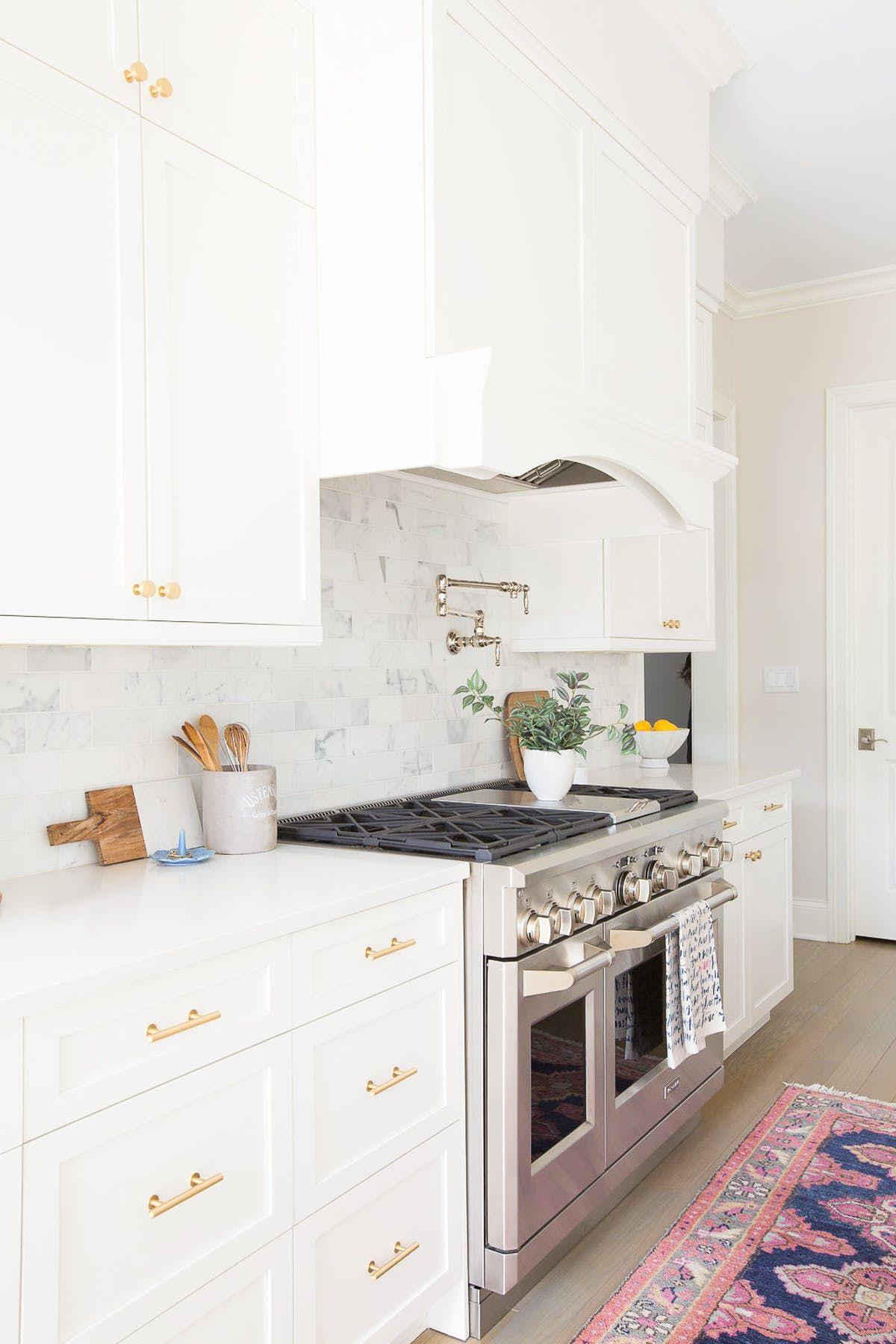 #White #Kitchen - Home Life On Cedar Lane