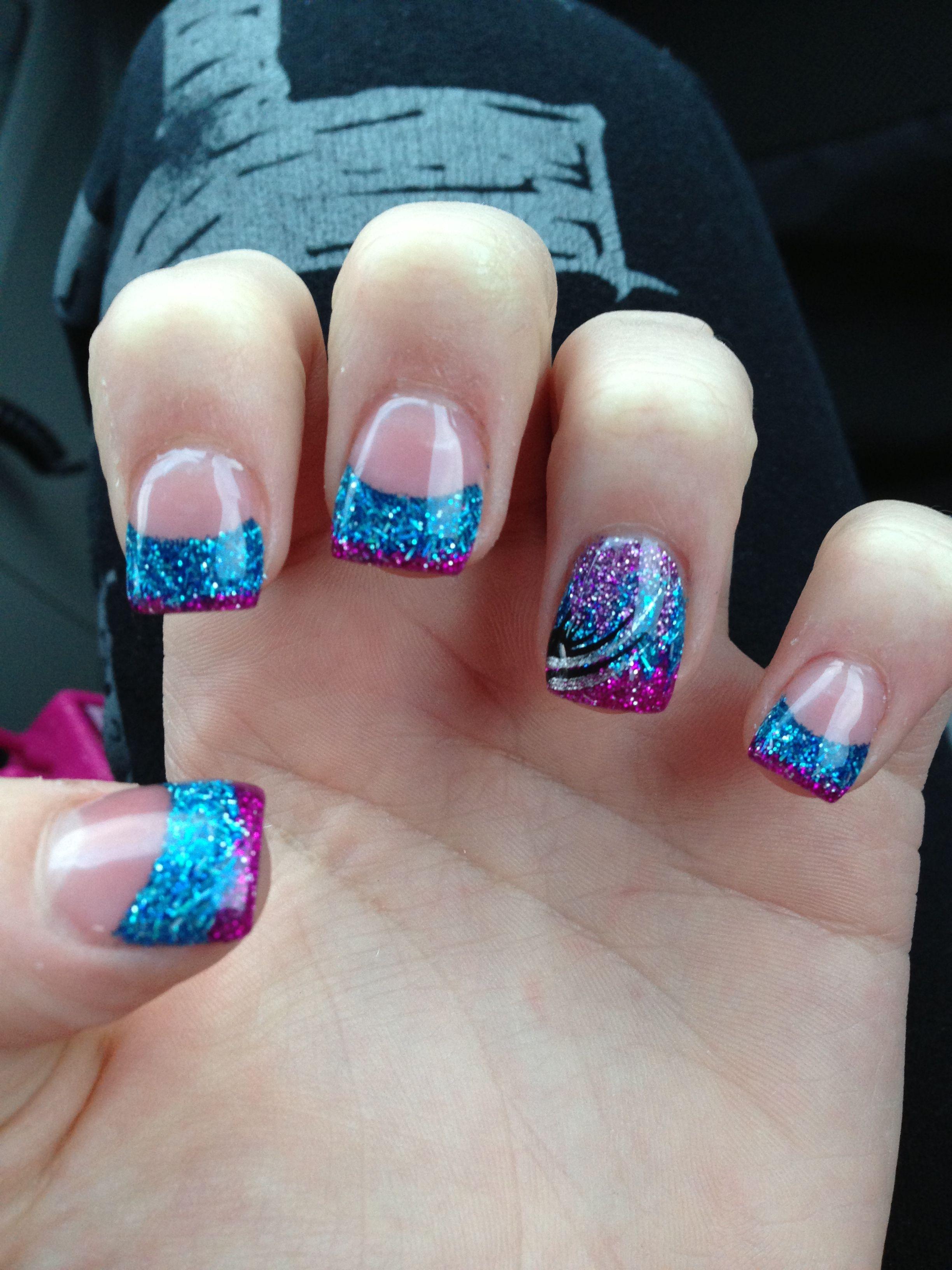 My new Gel nails - Crystal gel Nails | Pinterest - Nagel, Gelnagels ...