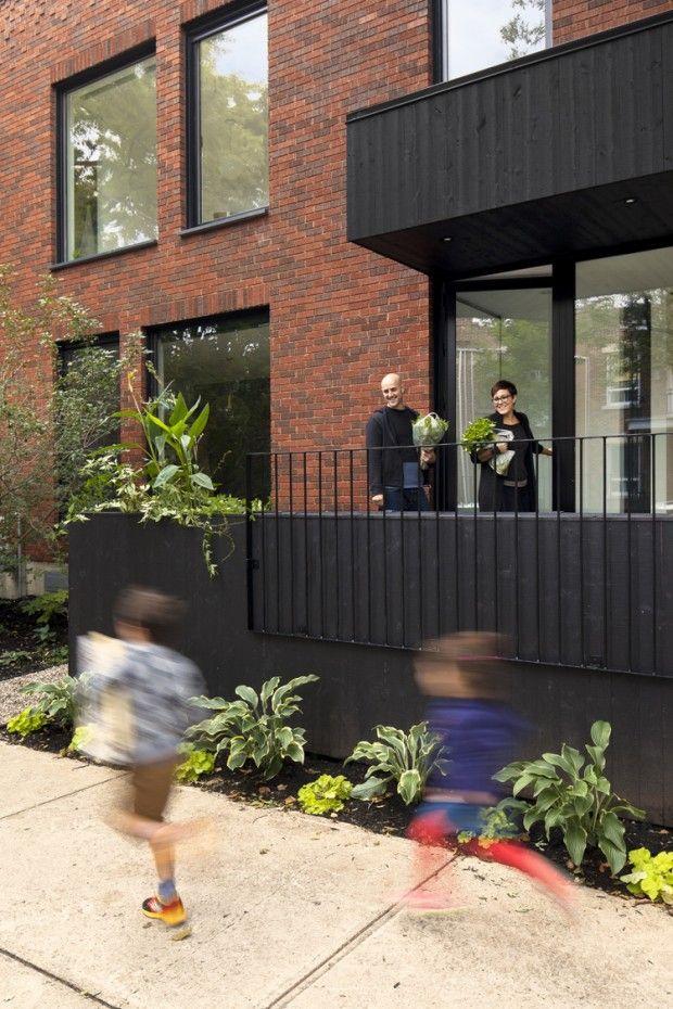 Maison de Gaspé par la SHED architecture Bricks and Architecture - creer une maison en 3d