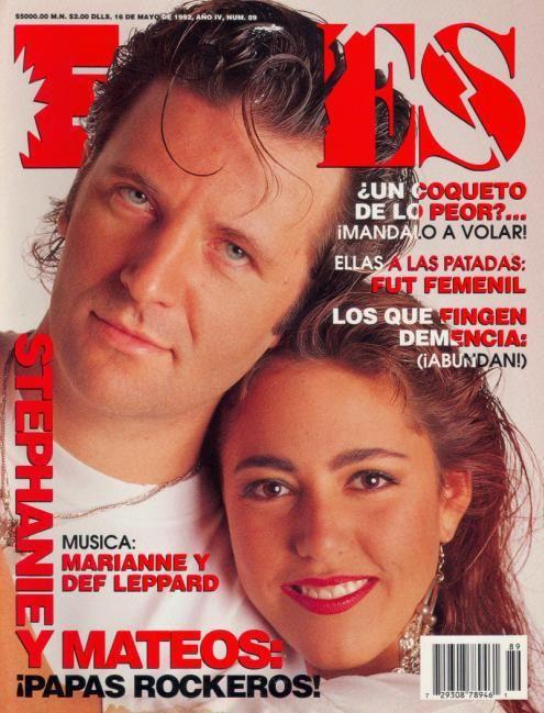 Miguel Mateos y Stephanie Salas |