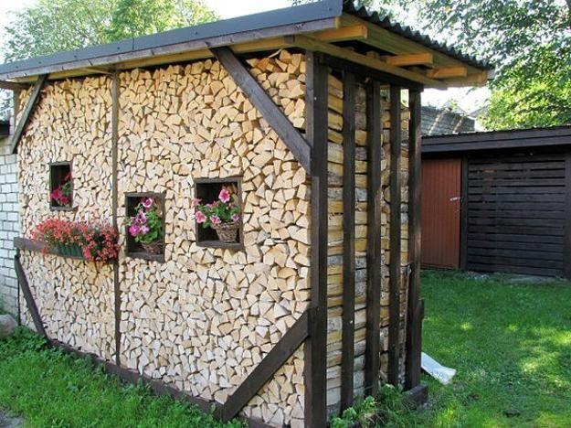 Creative Firewood Storage Ideas Turning Wood Into Beautiful Yard - Creative firewood storage ideas turning wood beautiful yard decorations