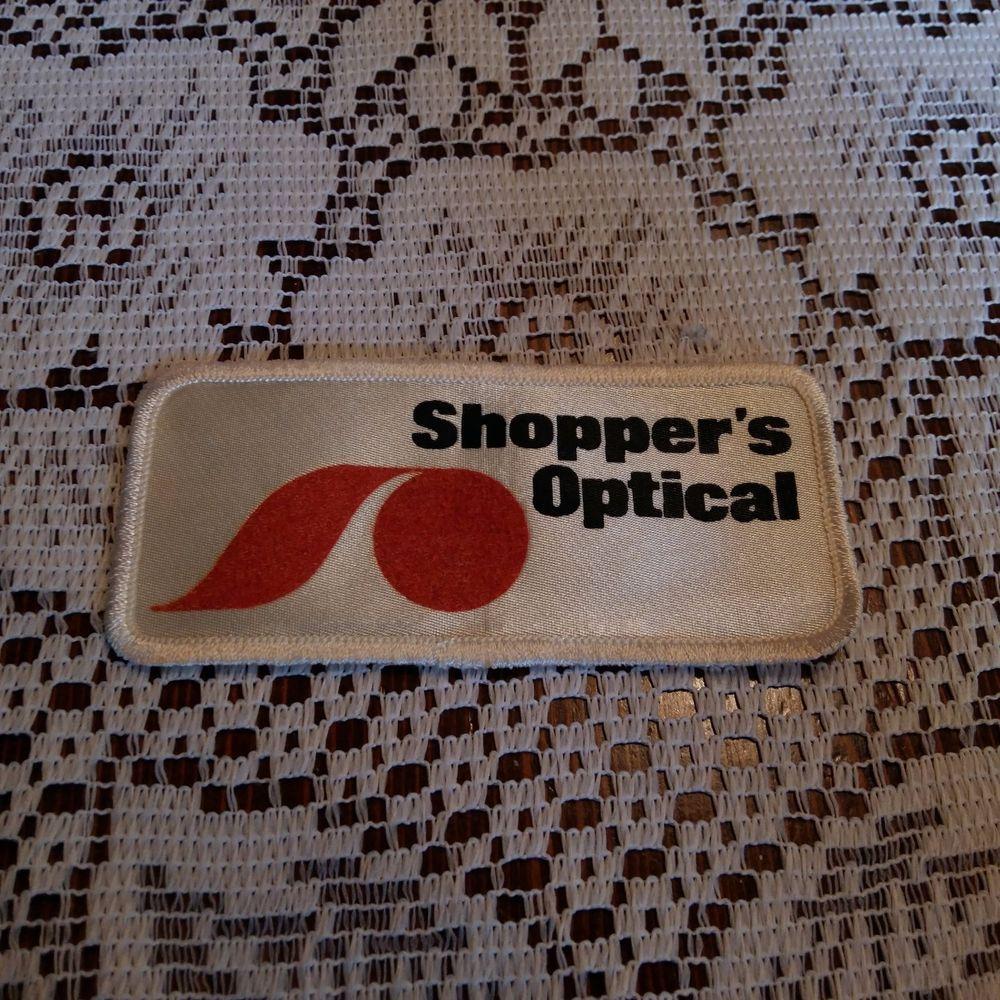 Shoppers Optical Patch Applique Crest Logo