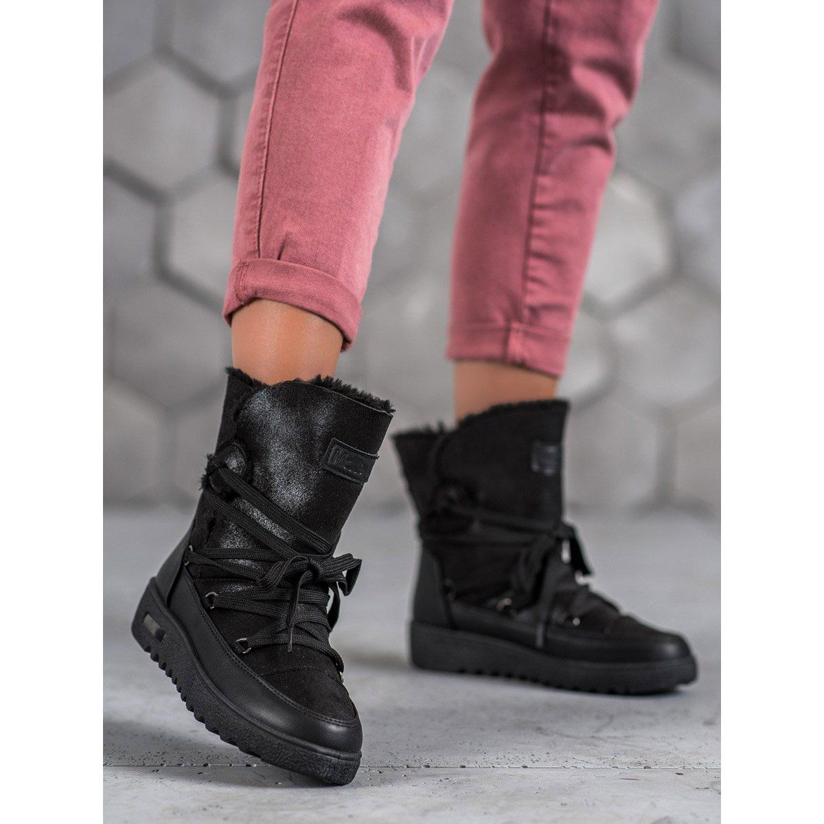 Niskie Workery Bikery Z Klamrami Biker Boot Boots Shoes