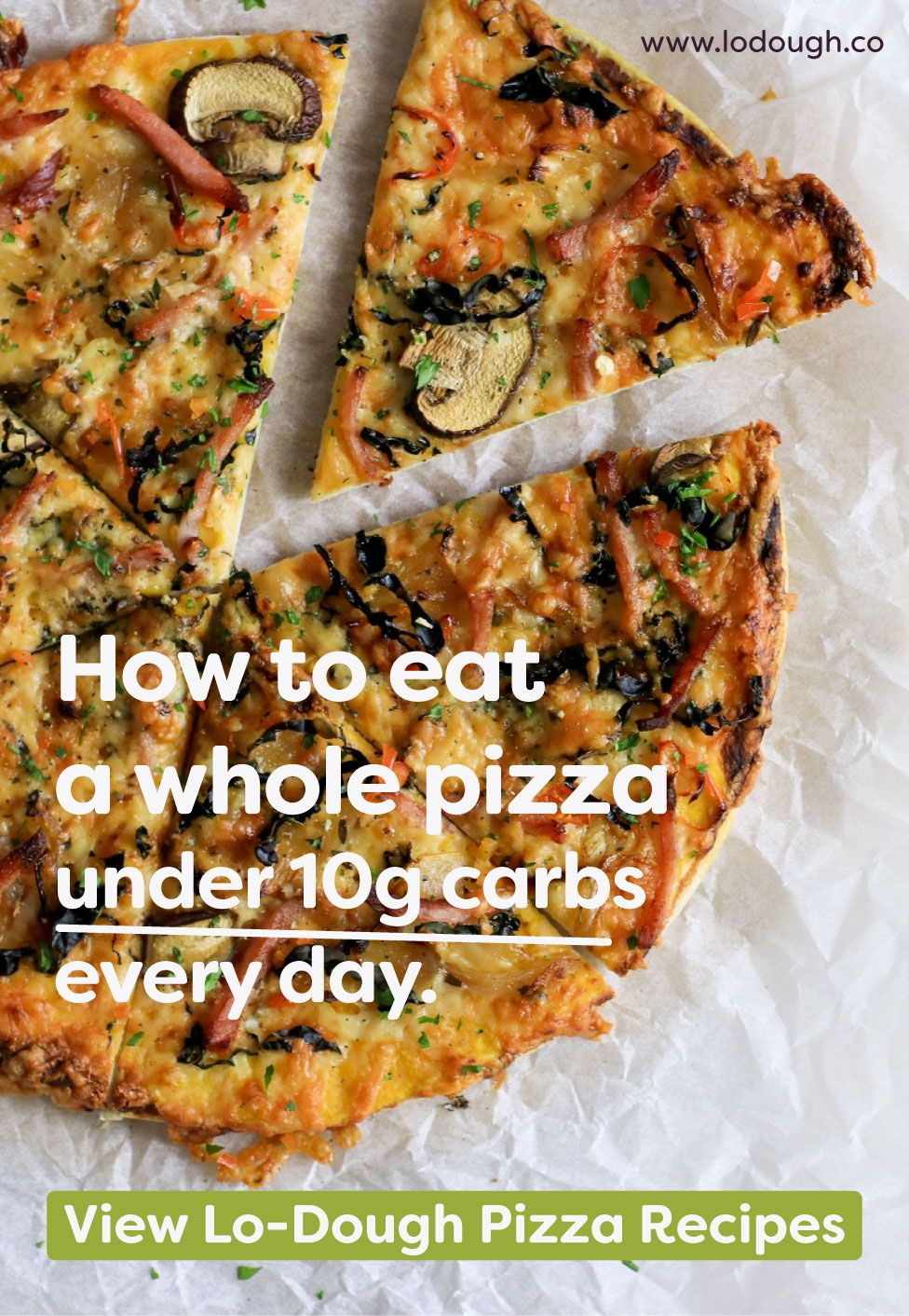 Low Carb Pizza Recipes With Lo Dough Food Recipes Pizza