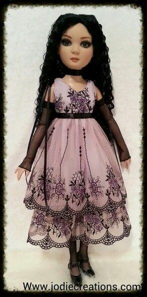 Prudence In Purple Rose. Www.jodiecreations.com