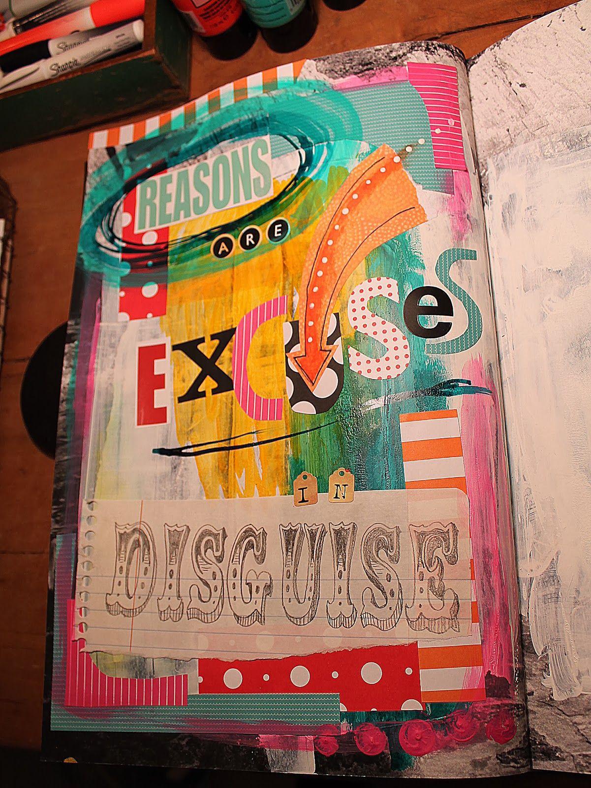 A Wee Bit Warped Shelly Massey Art Breaks Are Better Than Lunch Breaks Anyway Art Art Journal Inspiration Mixed Media Art Journaling