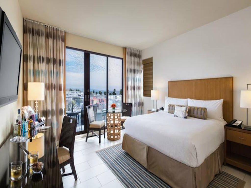 Los Angeles Dica De Hotel Em Venice Beach Hotel Room Design