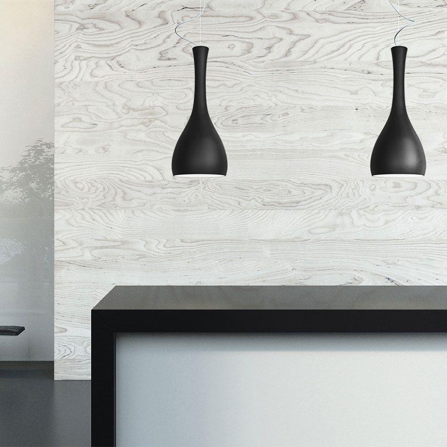 Glänzende Akzente in Schwarz & Weiß
