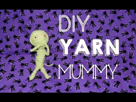 DIY Yarn Mummy - YouTube DIY HALLOWEEN DECORATIONS for KiDS - cool halloween decorations you can make